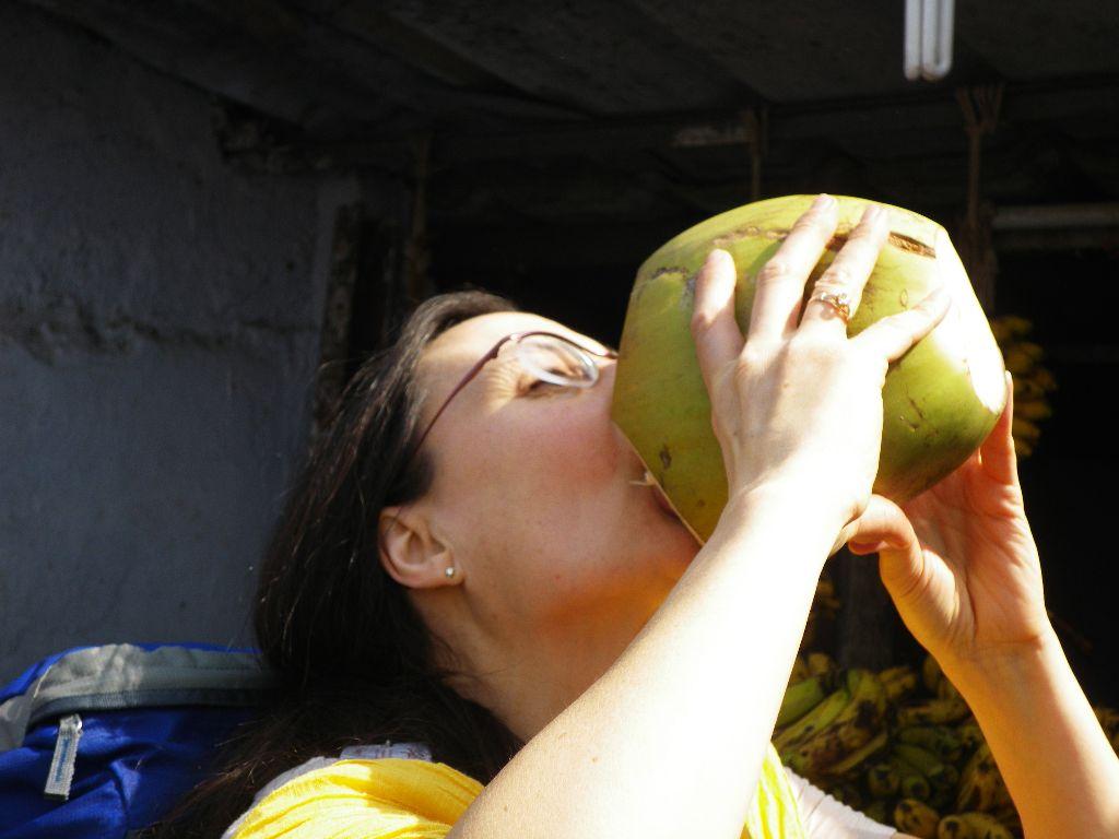Pure coconut - soooo sustainably delicious Coimbatore, 2011 - Thank you, Rajesh and Sugukumar